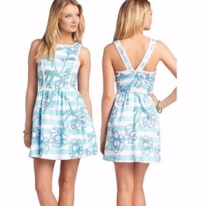 Lilly Pulitzer Sandrine dress in Tossing the Line